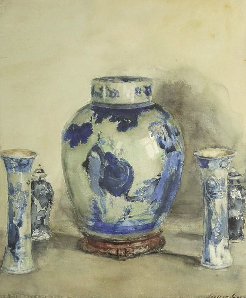 76 best blue and white images on pinterest art museum figurative blue and white porcelain late early century by walter gay american painter fandeluxe Image collections
