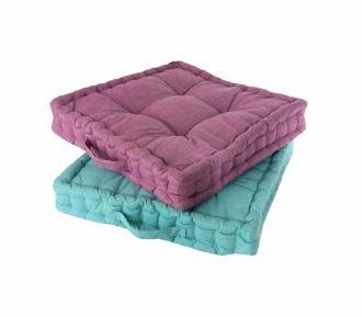 Tienda de decoracion online , muebles y objetos de diseño vintage, Bellos Signos - Catálogo textil-y-cojines - modelo Cojín para suelo y silla set de dos