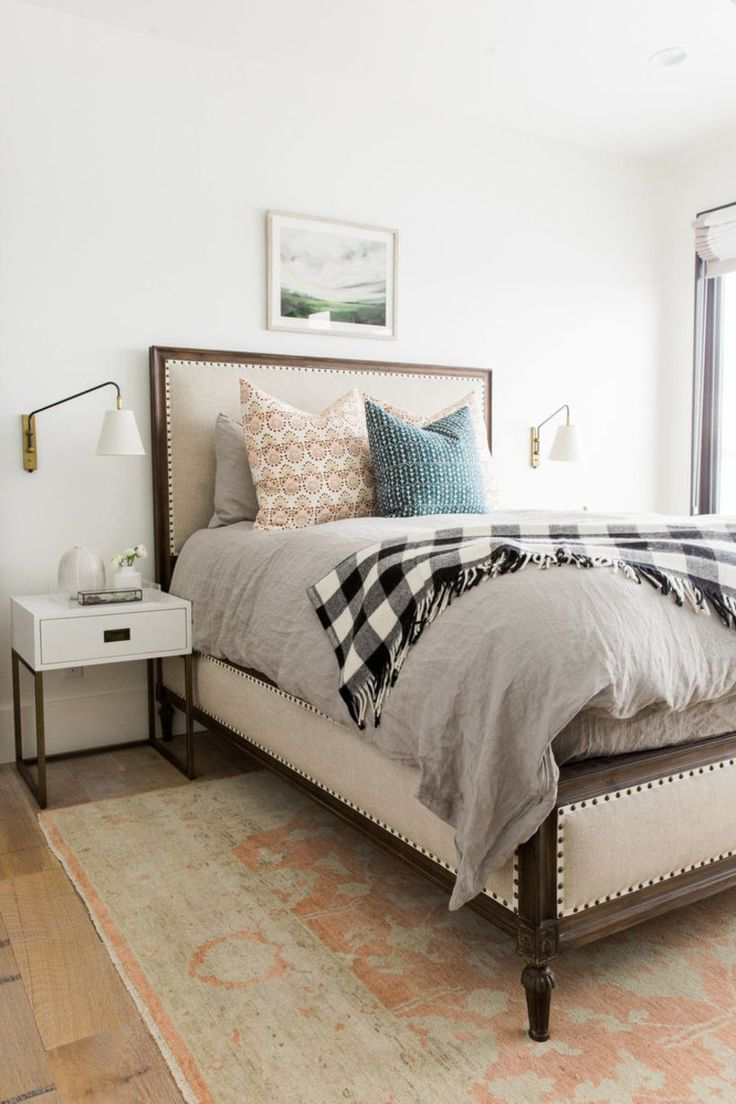 67 Minimalist Bedside Table Lamps Ideas To Makes Your Room Cozier Part 91
