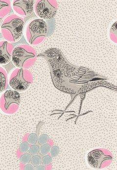 Ken on kiuruista kaunein, a finnish wallpaper classic by Birger Kaipiainen