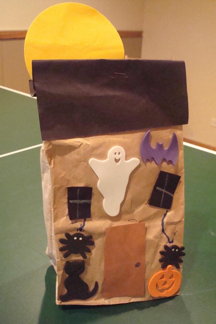 Paper bag haunted house | Halloween | Pinterest ...