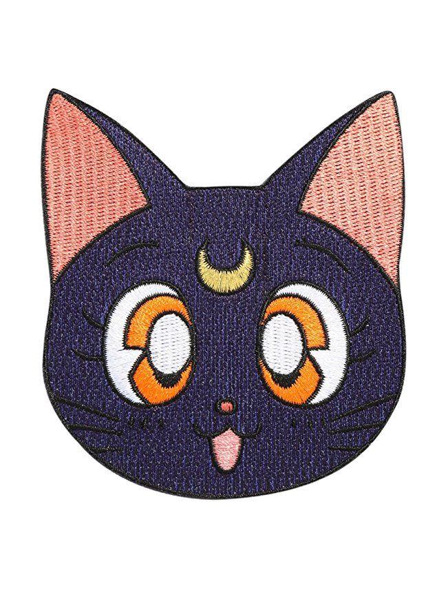 Sailor Moon Luna iron-on patch https://www.amazon.com/Sailor-Moon-Luna-Iron-On-Patch/dp/B074XFPXTF/ref=as_li_ss_tl?ie=UTF8&qid=1503451177&sr=8-1&keywords=sailor+moon+hot+topic&linkCode=ll1&tag=mypintrest-20&linkId=85756b7ba4bf59bb075ede7817b3c480