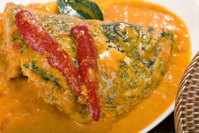 Resep Gulai Kepala Ikan Kakap Kuah Kuning Asli Padang Gulai Resep Masakan Masakan