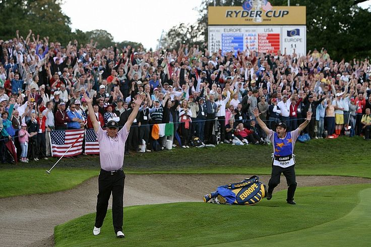 Darren Clarke at The Ryder Cup 2006