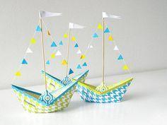 Un classique des créations en papier, on vous montre ici comment réaliser un bateau en papier !