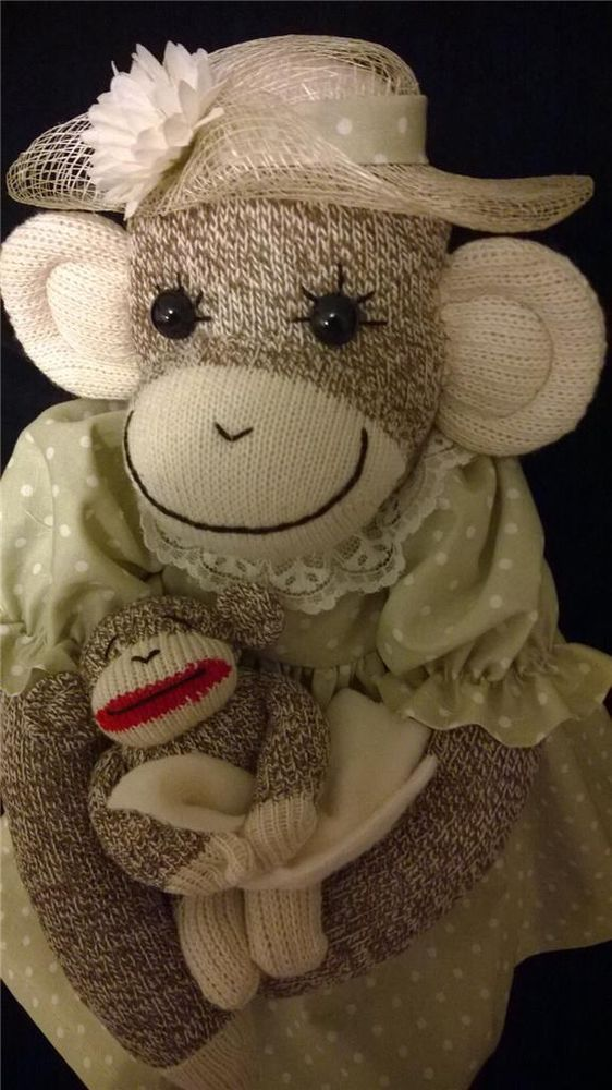 290 best images about Sock monkeys on Pinterest