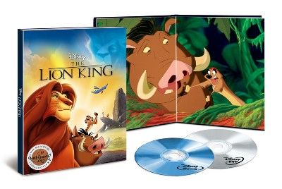 The Lion King: The Walt Disney Signature Target Exclusive: Collectible Limited-Edition Film Frames & Exclusive Storybook (Blu-ray + DVD + Digital) : Target