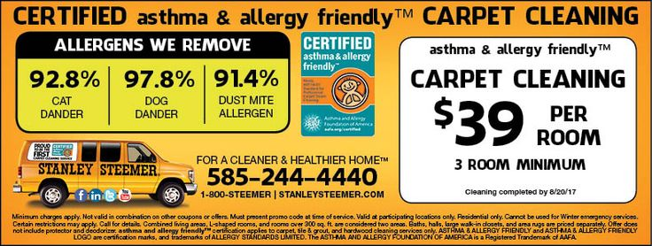 Stanley Steemer Has Affordable Carpet Cleaning In