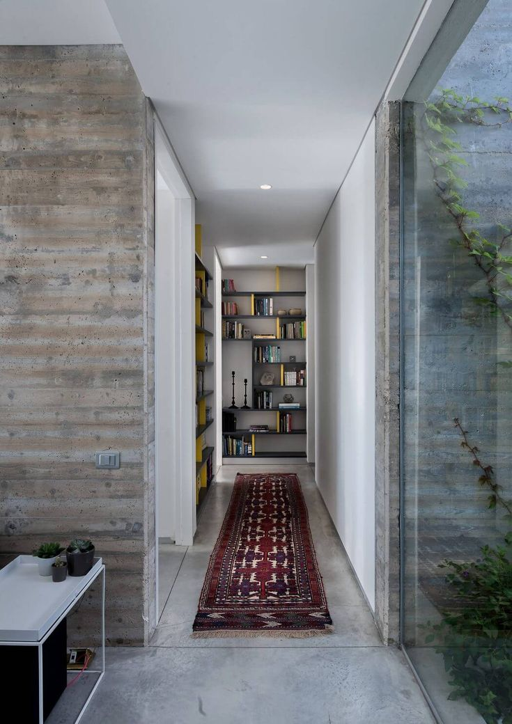 Modern private residence situated in Israel designed