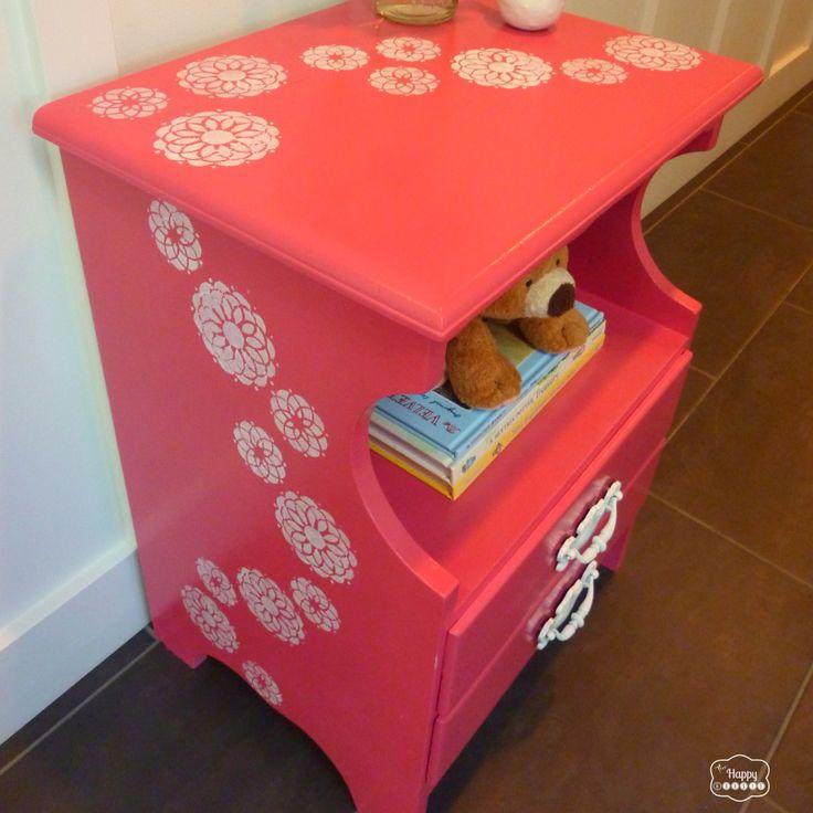 141 best furniture makeover images on pinterest for Little girls nightstand