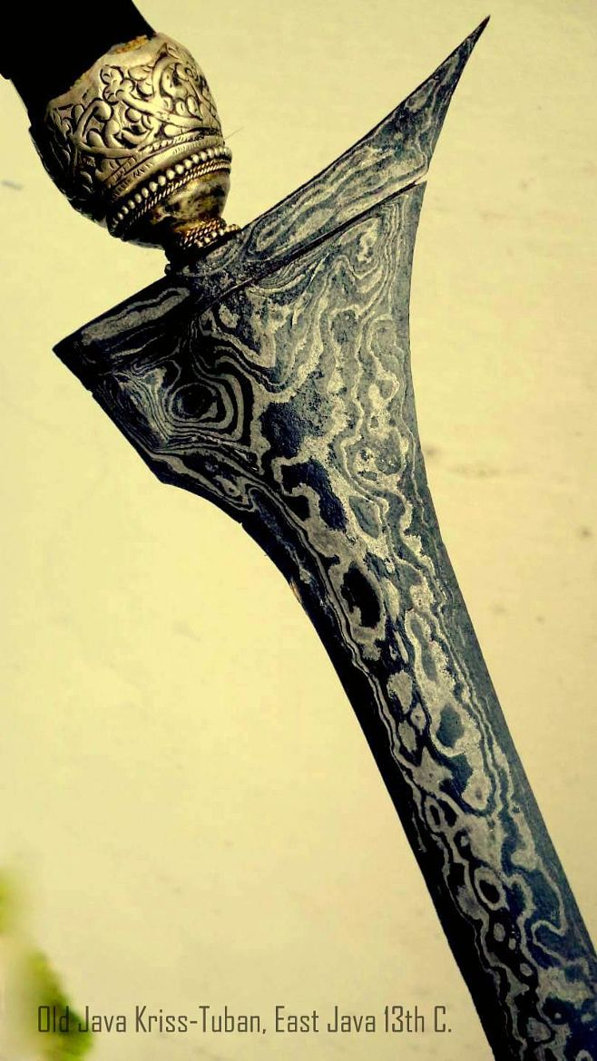 Old Keris, Tuban Style, East Java-1400's