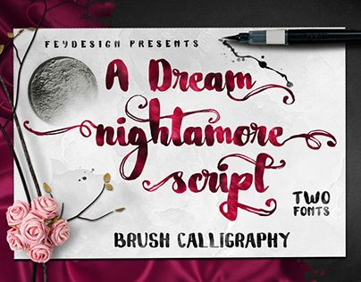 "Check out new work on my @Behance portfolio: ""Nightamore Free Font"" http://be.net/gallery/33615217/Nightamore-Free-Font"