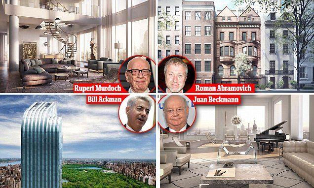 Where the world's richest live in Manhattan