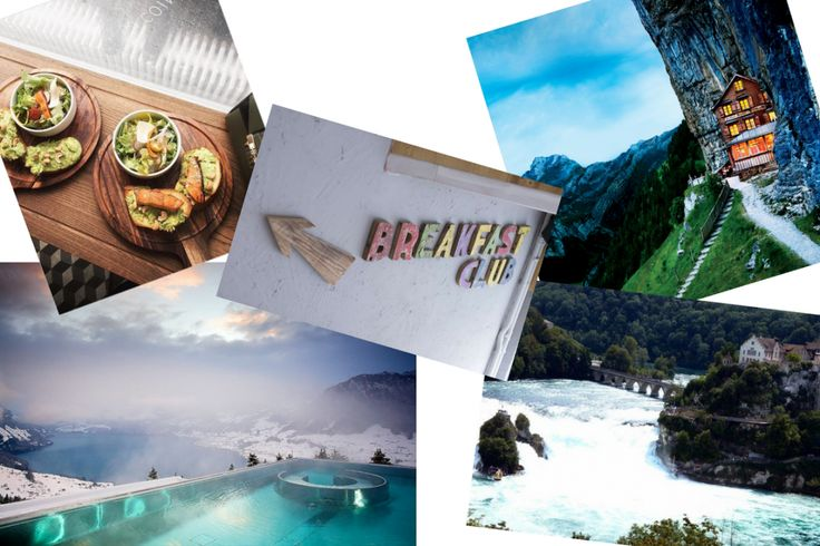 THINGS TO DISCOVER | Travel, Food | Switzerland Villa Honegg, Blackbird, Le Pointu, Cabane Ascher - Berggasthaus Aescher, Schauffhausen Rhinfall - Chute du Rhin