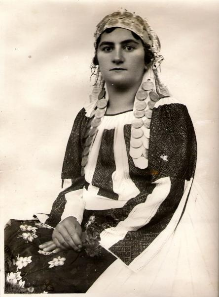 Young woman from Banat region     #LaBlouseRoumaine #RomanianBlouse #RomanianTraditionalCostume