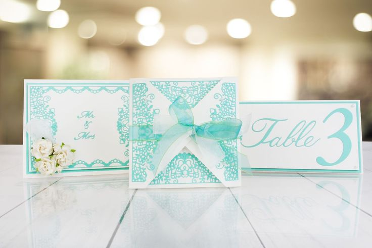 Make your own wedding invitations, table settings and much more with the @tatteredlaceuk Elegant Lace range! / homemade wedding / wedding planner / craft / handmade