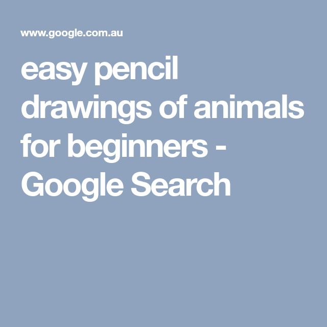 best 25 easy drawings of animals ideas on pinterest