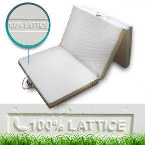 Comodo materassino economico in 100% lattice