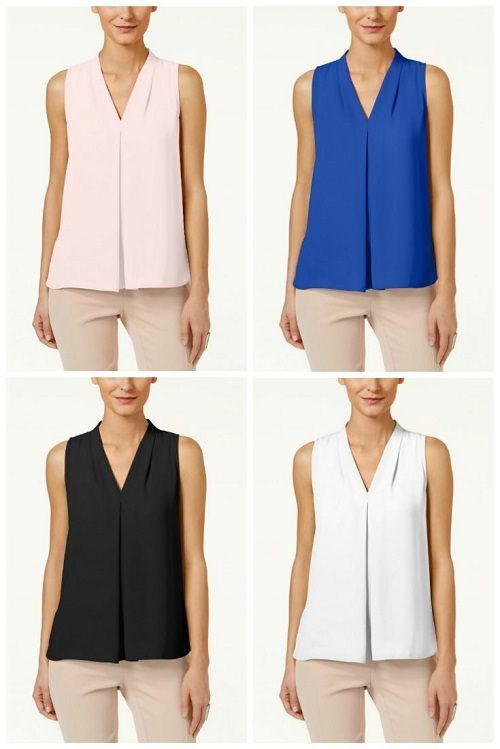 70e0cc918ae Workwear Hall of Fame  Inverted-Pleat Blouse