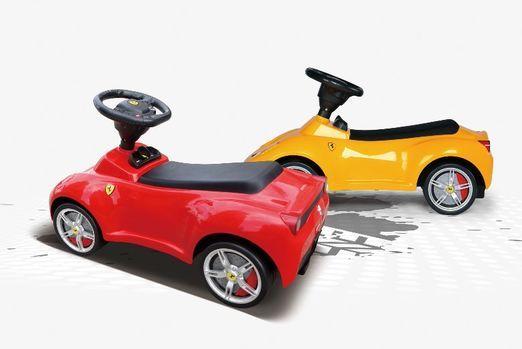 FERRARI - Odrážadlo Ferrari Yellow