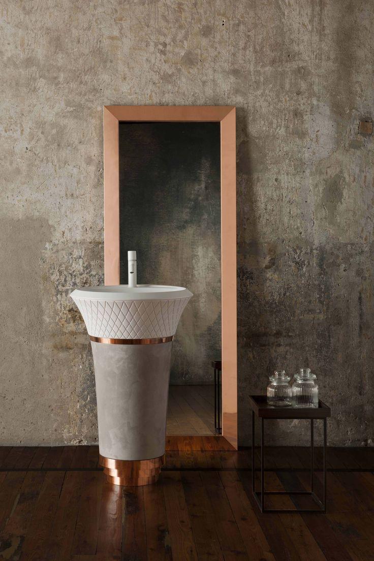 George skulpturaler waschtisch f r falper progetta il tuo bagno con falper handwash for Progetta il tuo bagno