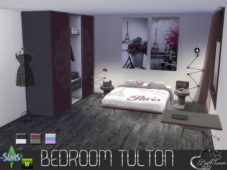 72 best sims 4 bedroom sets images on pinterest bathroom for Matching bedroom and bathroom sets