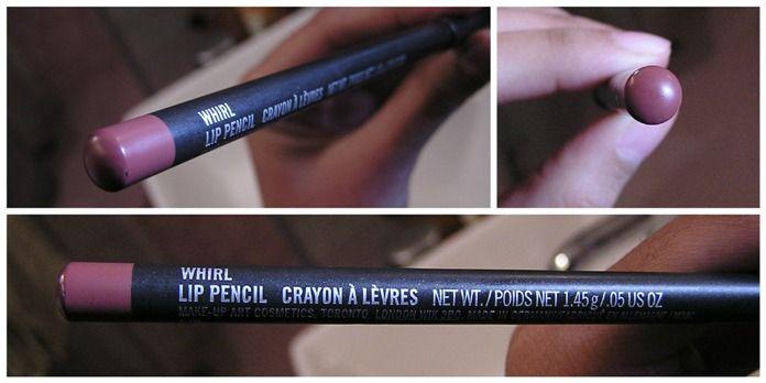 whirl lip liner | MAC Whirl Lip Pencil Review