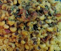 Recipe for spicy, smoky black-eyed peas with chipotle & bacon (perfect ...
