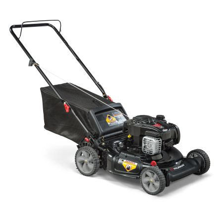 Murray 21 inch Gas Push Lawn Mower with Side Discharge, Mulching, Rear Bag