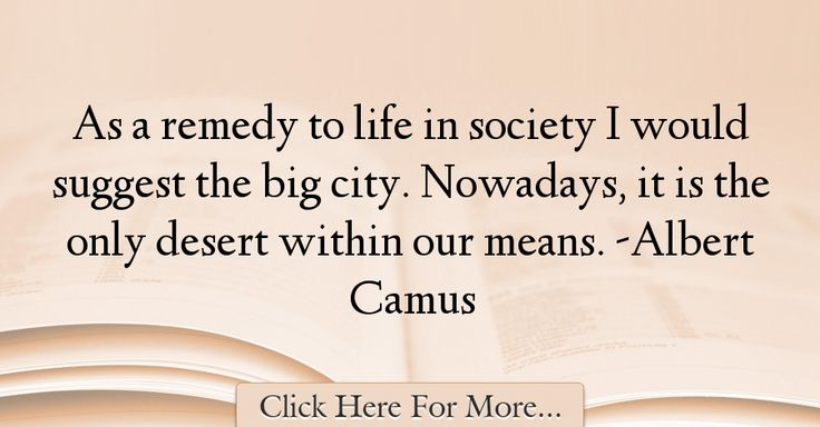Albert Camus Quotes About Society - 62839