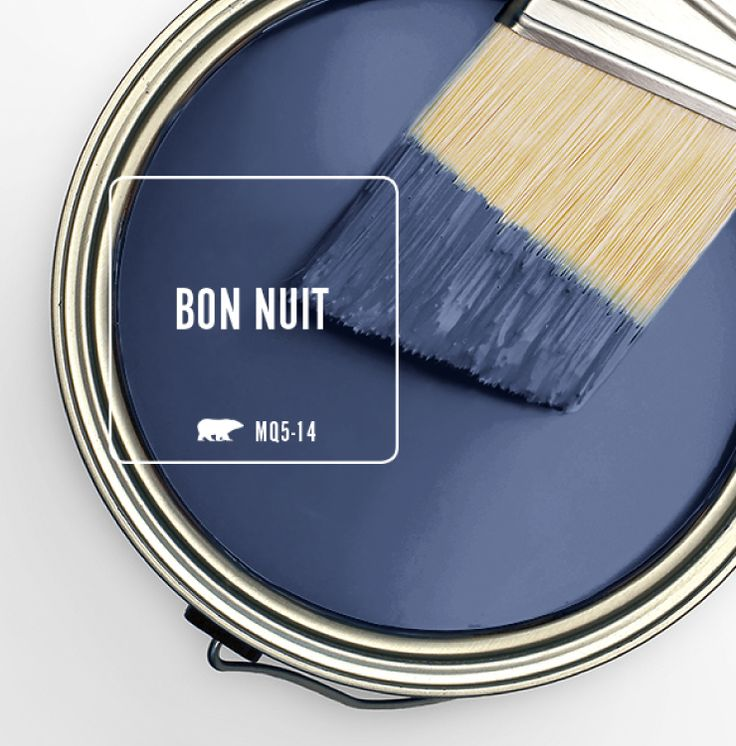 Deep and mystical, Behr's Bon Nuit MQ5-14 is inspired by the midnight summer sky on a clear night. This indigo shade embodies the bliss of that perfect evening, whether you're sitting around a campfire or strolling from hotspot to hotspot on the weekend. Bon Nuitcouldn't be more ideal, which is why we've selected it as …