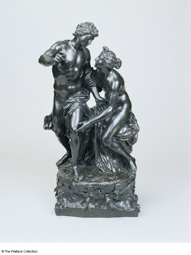 Attrribued to Robert Le Lorrain, Venus and Adonis, c. 1705/ 1725, Bronze, 55,5 cm, The Wallace Collection, London
