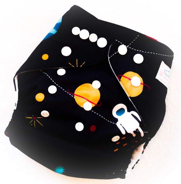 Astronaut One Size Pocket Diaper