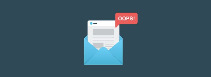 """6 clever examples of """"oops!"""" emails   Emma Email Marketing Blog   Emma, Inc."""