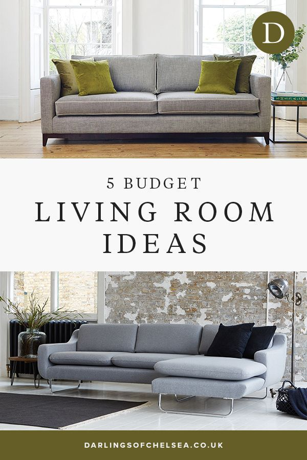 5 Living Room Ideas On A Budget In 2020 With Images Living