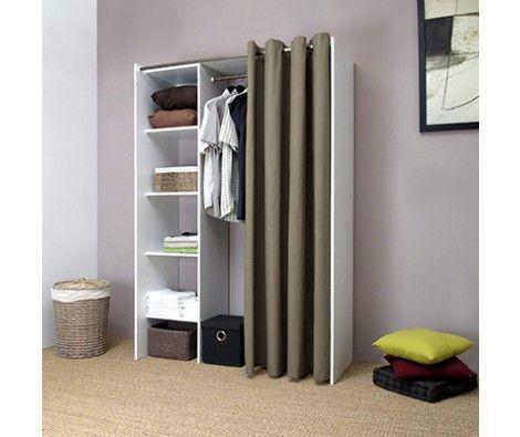 Les 25 meilleures id es concernant armoire lingere sur pinterest meubles de - Kit dressing extensible ...