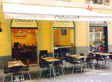 New Opening CAPATOAST TORINO #capatoast #torino #toast #toasteria #newopening #streetfood #takeaway