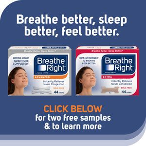 Free Breathe Right Sample for Costco Members