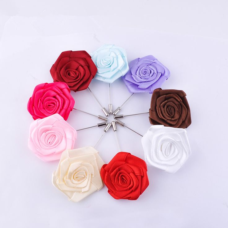 Vintage Lapel Pin 5Pcs/Lot Corsage Wedding Jewelry Fashion Brooches Handmade Brooches For Women Flower Brooch Men Suit Lapel Pin #Affiliate