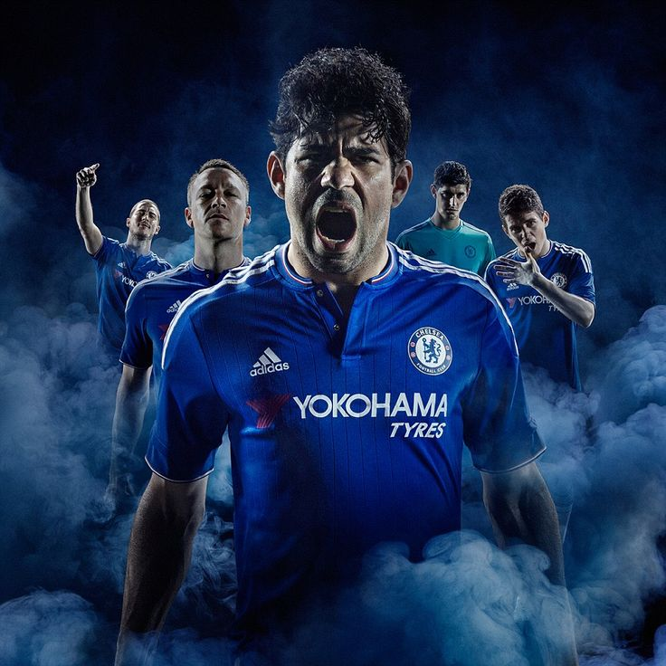 """Premier League champions Chelsea included the motto, 'If it's not blue it will be,' it should be 'Don't make Diego angry !"""""""