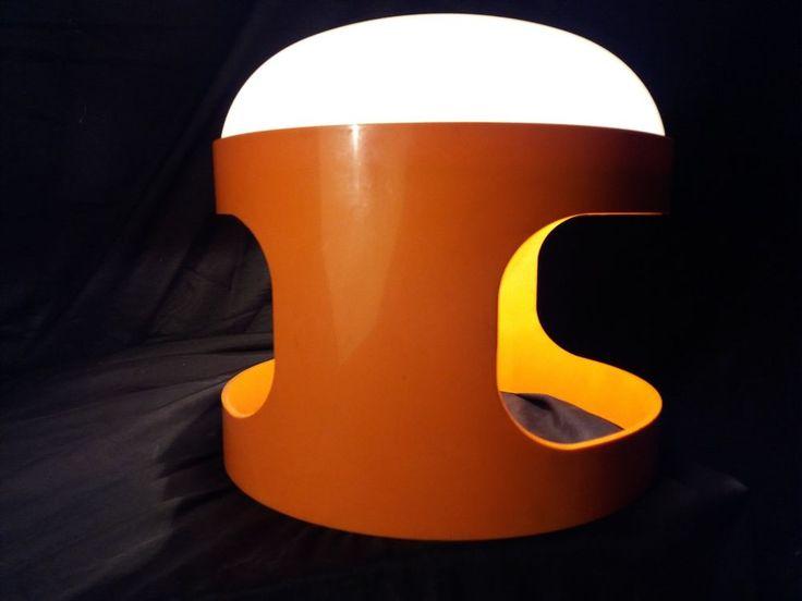 Design Joe Colombo Kartell Lampe KD27 VINTAGE circ 1970 ITALIA Plastique