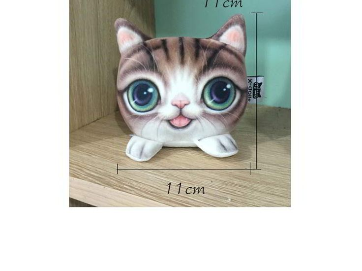 Kitten Big Eyes Cat Pattern Decorated Simple Design Brown. Cute and elegance REPIN if you agree.😊 Only 101 IDR