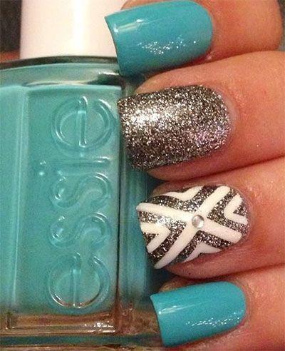 20 + Gel Nail Art Designs, Ideas, Trends & Stickers 2014   Gel Nails   Fabulous Nail Art Designs