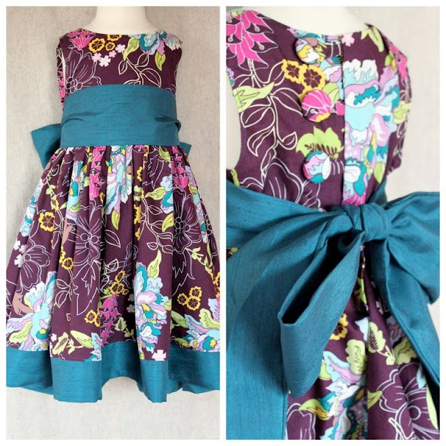 Free dress pattern and tutorial, toddler