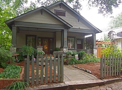 Bungalow Atlanta Like The Picket Fence For Defining A