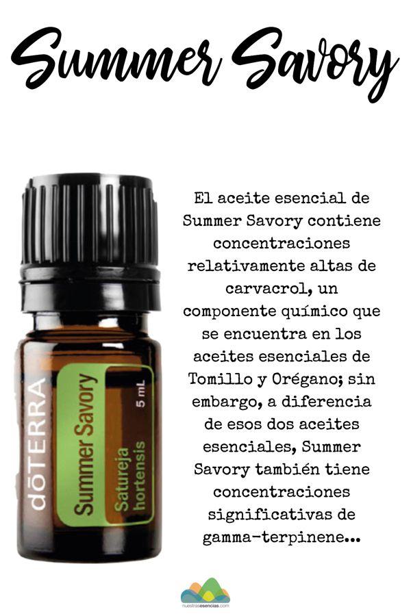 Aceite Esencial Summer Savory De Dōterra Doterra Summer Savory Doterra Business