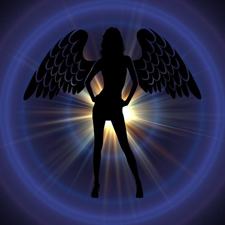 Les 25 meilleures id es de la cat gorie dessin d 39 ange sur - Dessin d ange gardien ...