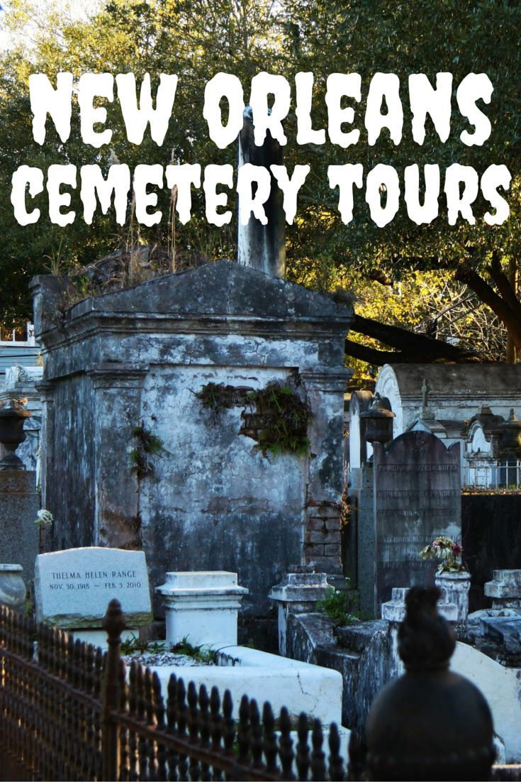 Travel the World: A fun thing to do when visiting New Orleans is joining one of the many New Orleans cemetery tours. #NOLA #travel