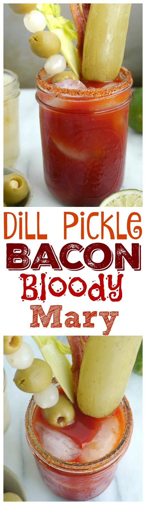 Dill Pickle Bacon Bloody Mary from NoblePig.com.