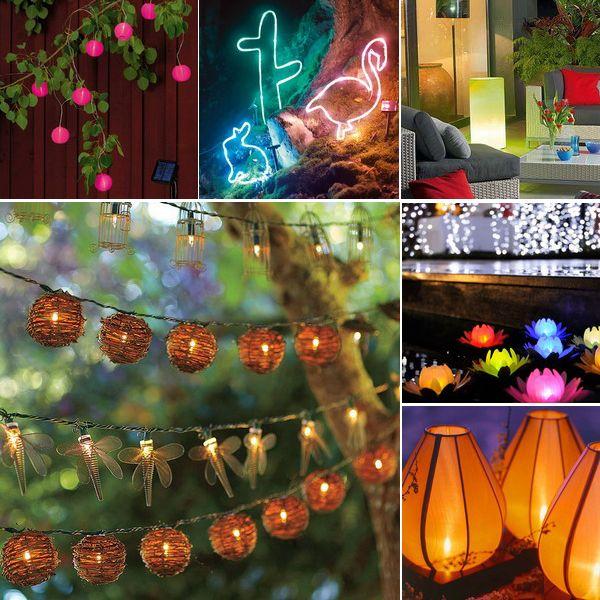 outdoor-decorative-lighting декоративное освещение сада и террасы